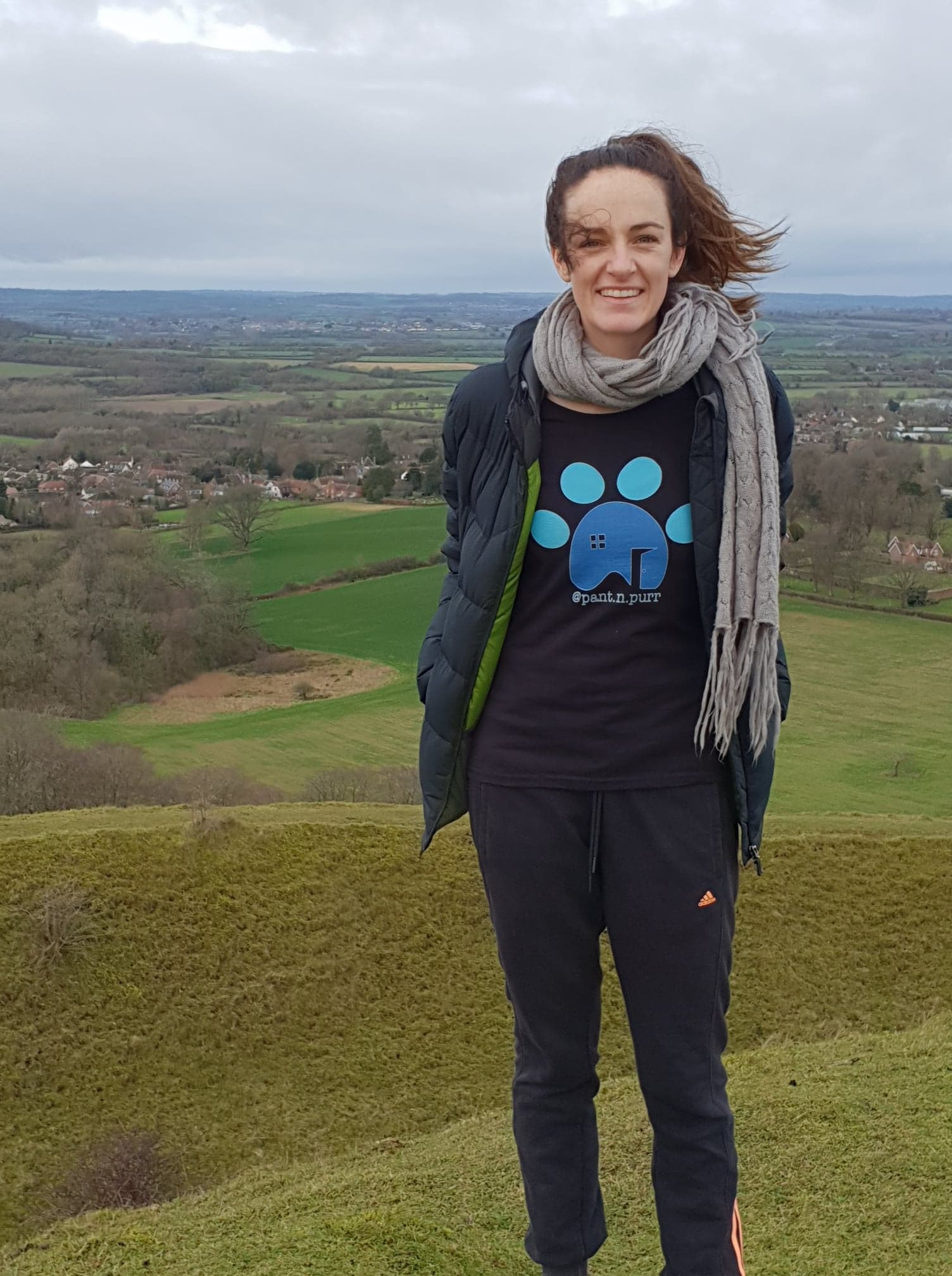 Shaunie from Pant 'n' Purr in the Fruit Of The Loom Valueweight t-shirt