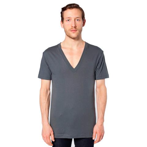 American apparel unisex sheer jersey short sleeve deep v neck for American apparel mesh shirt
