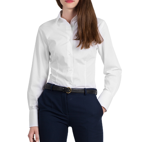 B&C Heritage Women's Long Sleeve Shirt