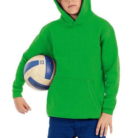 B&C Youth Hooded Sweatshirt