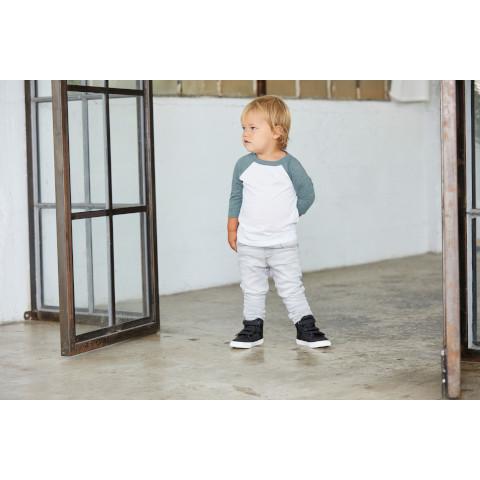 4eb1103d Bella & Canvas Toddler 3/4 Sleeve Baseball T-shirt