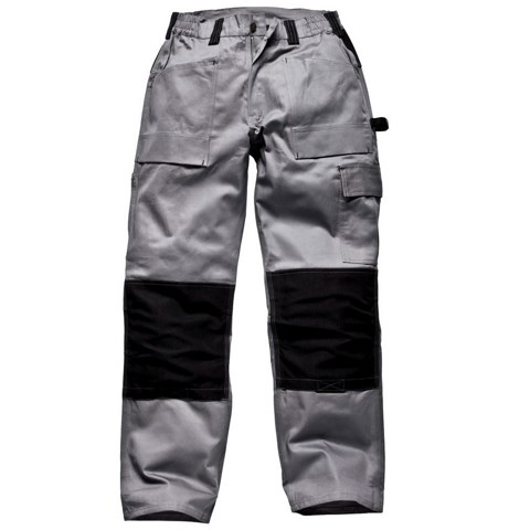 Dickies Grafter TWIN PACK Duo Tone Cotton Trousers Black Various Sizes