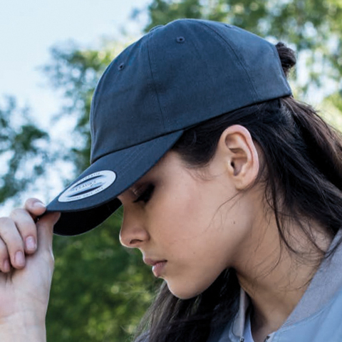 Flexfit By Yupoong Dad Hat Baseball Strap Back