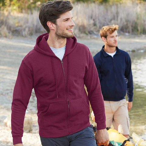 eaa4a3194d3 Fruit of the Loom Classic Zip Hooded Sweatshirt · View model image