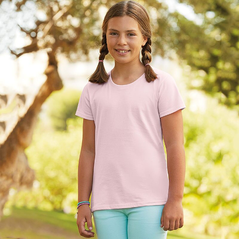 Fruit of the Loom Girls Sofspun T