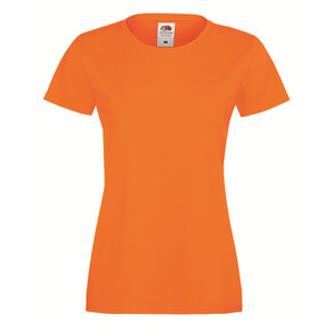 17-Colour Fruit Of The Loom Lady-Fit Sofspun® T-Shirt