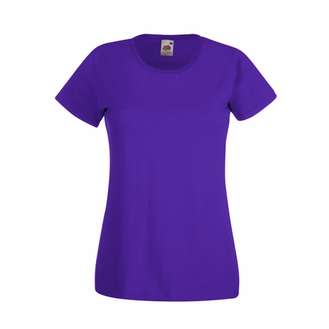 Fruit of the Loom Lady Fit Value T-Shirt · View model image