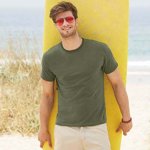 Fruit of the Loom Men's Fitted Valueweight T-Shirt