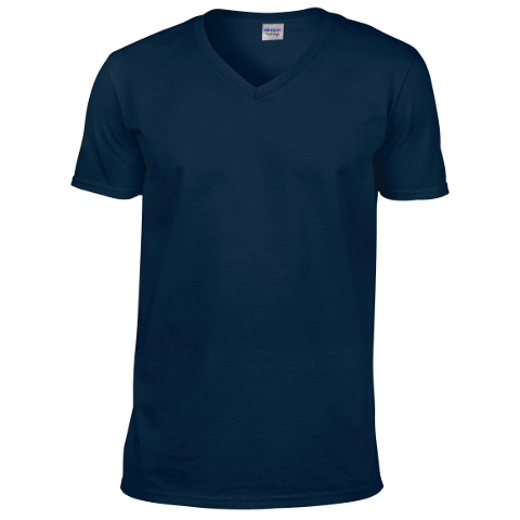 252663a8957 Gildan SoftStyle V Neck T-Shirt · View model image