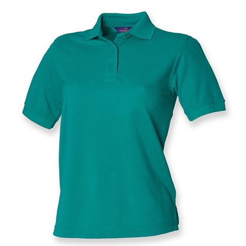 Henbury Ladies Pique Polo Shirt. £7.16 19b0075bc15d