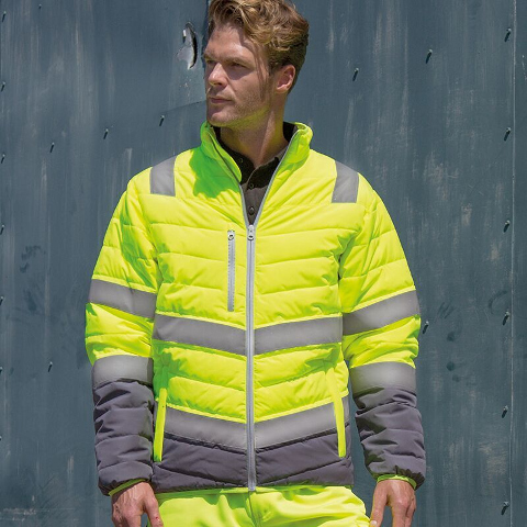 Result Soft Padded Safety Jacket