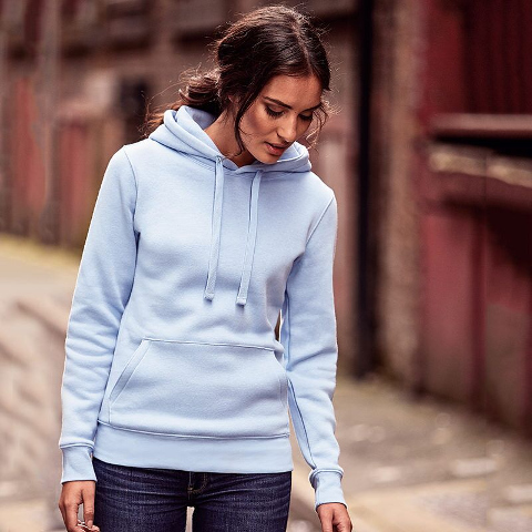 Russell Ladies Authentic Hooded Sweatshirt