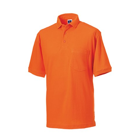 Russell men 39 s heavy duty polo for Order custom polo shirts