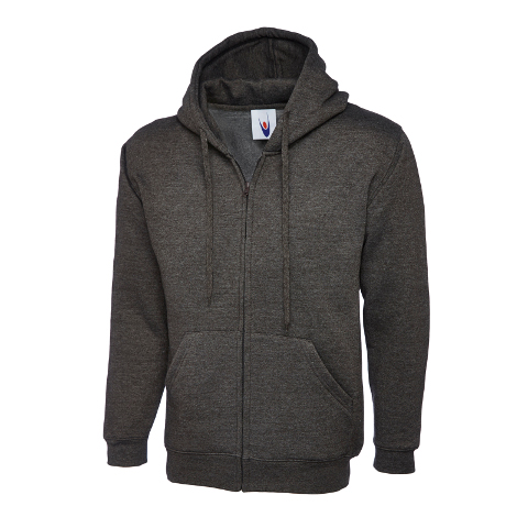 UNEEK Personalised Embroidered Classic Unisex Hooded Sweatshirt Work Wear Sweat