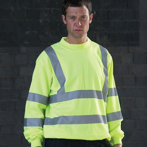 Yoko Hi-Vis Heavyweight Sweatshirt