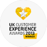 2013 - Win Digital Award at UK Customer Experience Awards.