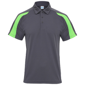 AWDis Contrast Just Cool Polo Shirt