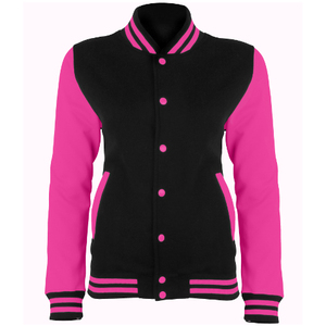 AWDis Electric Varsity Jacket