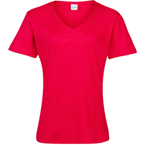 AWDis Just Cool Girlie V Neck Wicking T-Shirt