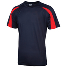 AWDis Kids Contrast Just Cool Wicking T-Shirt
