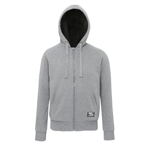 Affordable Fashion Sherpa Fleece Lined Zip Hoodie