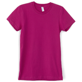 American Apparel Fine Jersey Short Sleeve Women's T