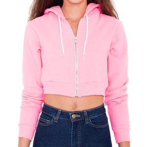 American Apparel Flex Fleece Crop Hoodie
