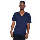 American Apparel Unisex Triblend Short Sleeve V-Neck T-Shirt