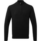 Asquith & Fox Men's Cotton Blend 1/4 Zip Sweater