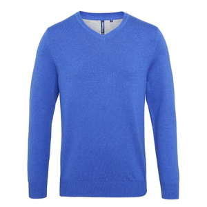 Asquith & Fox Men's Cotton Blend V-Neck Sweater