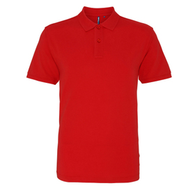 Asquith & Fox Men's Washed Polo Shirt