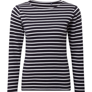 Asquith & Fox Women's Marinière Coastal Long Sleeve T-shirt