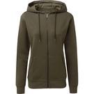 Asquith & Fox Women's Zip-Through Organic Hoodie