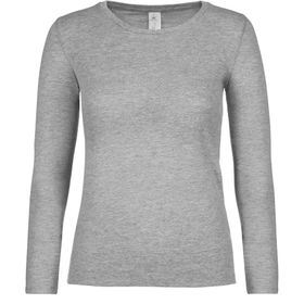 B&C #E150 Women's Long Sleeved T-Shirt