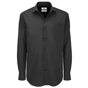 B&C Heritage Men's Long Sleeve Shirt