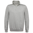 B&C ID.004 1/4 Zip Sweatshirt