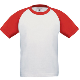 B&C Kid's Baseball T-Shirt