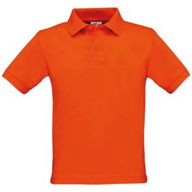 B&C Kids Safran Pique Polo Shirt