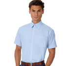 B&C Oxford Men's Short Sleeve Shirt