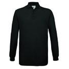 B&C Safran Long Sleeve Pique Polo Shirt
