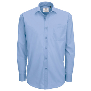 B&C Smart Men's Long Sleeve Shirt