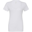 Bella+Canvas Deep V-Neck Jersey T-Shirt