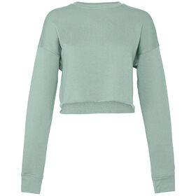 Bella+Canvas Women's Cropped Crew Fleece Sweatshirt