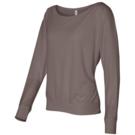 Bella+Canvas Flowy Off Shoulder Long Sleeve T-Shirt