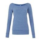 Bella+Canvas Triblend Slouchy Wideneck Sweatshirt