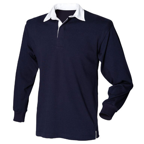 Express Design Group Scotland Patch Long Sleeve Polo