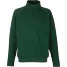 Fruit Of The Loom Men's Classic Zip Neck Sweatshirt
