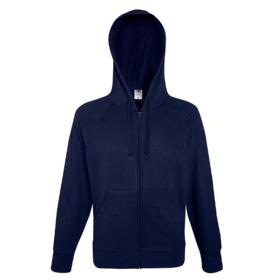 Fruit Of The Loom Men's Lightweight Hooded Sweatshirt Jacket