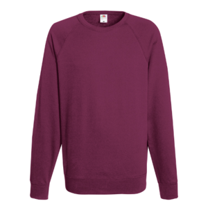 Fruit Of The Loom Men's Lightweight Raglan Sweat