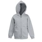 Fruit Of The Loom Premium 70/30 Kids Hooded Sweatshirt Jacket